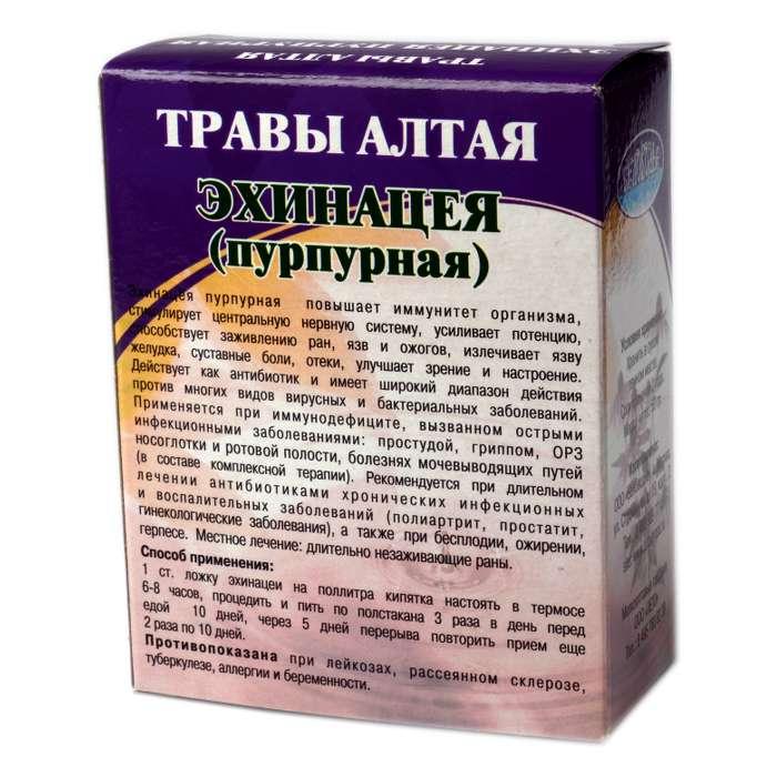 Беловодье Эхинацея пурпурная трава 50г - 39р. в магазинах 'БиоПрофи'